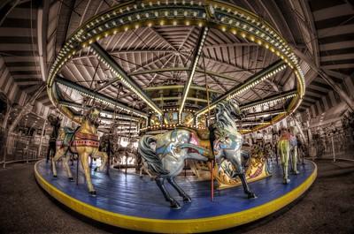 Seaside Heights Carousel - New Jersey