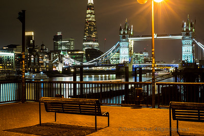 Tower Bridge - View From Wapping