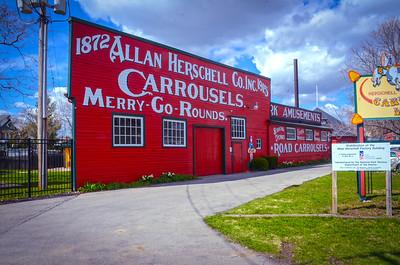 Herschell Carrousel Factory Museum - Tonawanda, New York