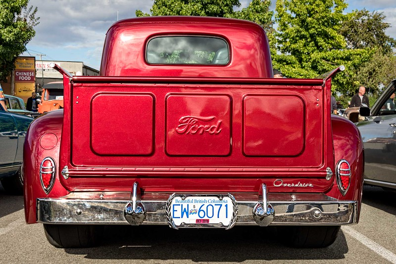 Rear View Ford