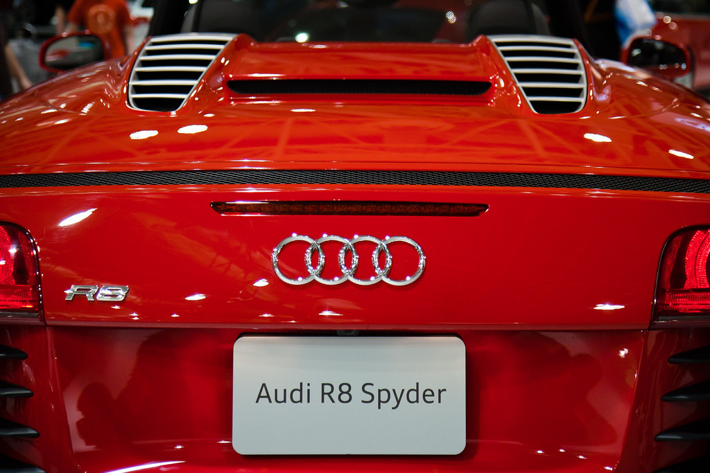 Twin Cities / Minneapolis Car Show 2011 - Audi R8 Spyder