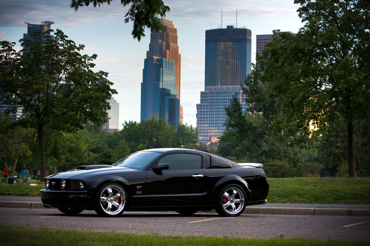 2005 Ford Mustang GT 4.6 V8 Supercharged.