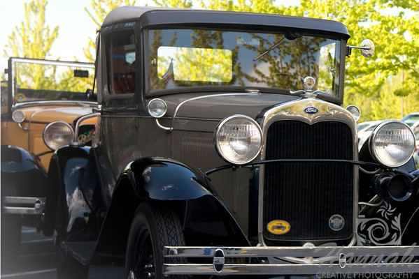 Ford Vintage Car Colored Front Shot   © Copyright Hannah Pastrana Prieto