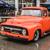 Ford F100 in the Rain
