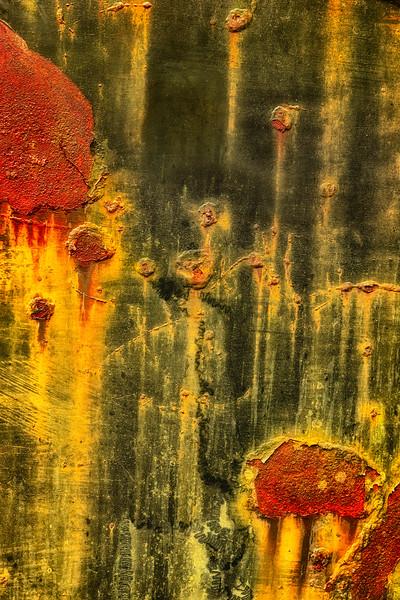 Rusty Car Abstract # 2