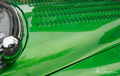 Green Car Hood - Beatersville Car & Truck Show