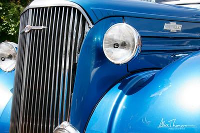 Blue Chevy - Beatersville Car & Truck Show