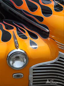 Flames - Beatersville Car Show