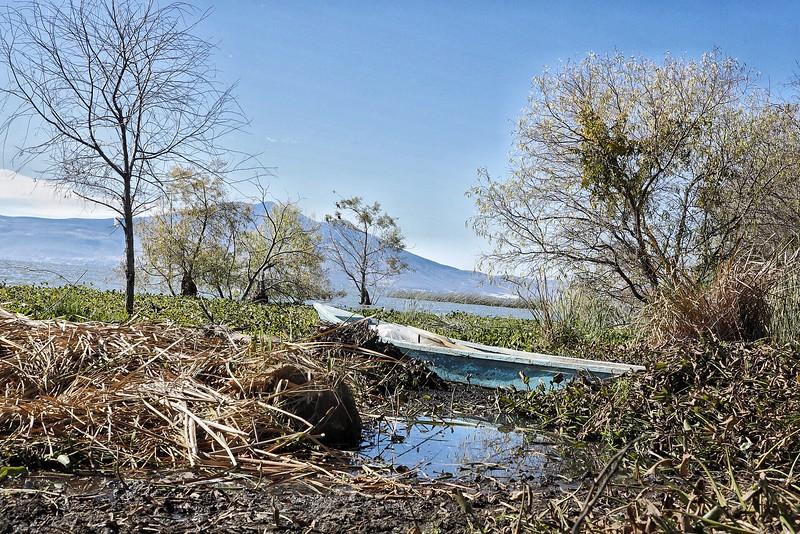 Boat at Lake Chapala