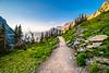 Hiking the Highline Trail