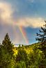 Rainbow over Flathead Lake
