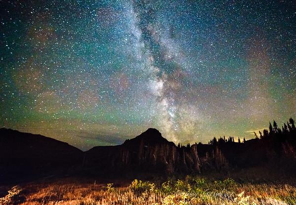 Reynold's Mountain at Night