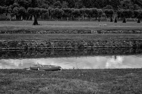 au parc du château de Dampierre