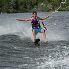 Slalom and bare foot