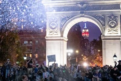 People Celebrate Joe Biden is the next U.S. President Elect