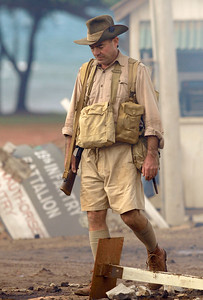 """BOWEN, QLD 24 JUN 2007 - Filming of """"Australia"""", the Baz Luhrmann movie currently in production in Bowen, QLD - PHOTO: CAMERON LAIRD (PH 0418 238811)"""