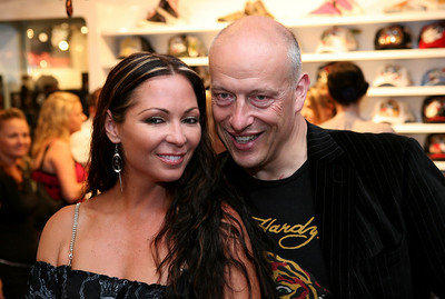 12 Dec 2007 Surfers Paradise, Qld, Australia - Max Markson and Tania Zaetta at the opening of an Ed Hardy store on the Gold Coast - PHOTO: CAMERON LAIRD (Ph: 0418 238811)