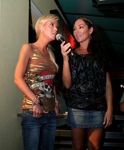 12 Dec 2007 Surfers Paradise, Qld, Australia - Tara Reid and Tania Zaetta at the opening of an Ed Hardy store on the Gold Coast - PHOTO: CAMERON LAIRD (Ph: 0418 238811)