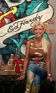 12 Dec 2007 Surfers Paradise, Qld, Australia - at the opening of an Ed Hardy store on the Gold Coast - PHOTO: CAMERON LAIRD (Ph: 0418 238811)