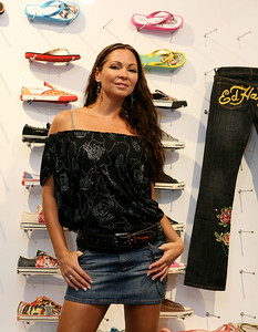 12 Dec 2007 Surfers Paradise, Qld, Australia - Tania Zaetta at the opening of an Ed Hardy store on the Gold Coast - PHOTO: CAMERON LAIRD (Ph: 0418 238811)
