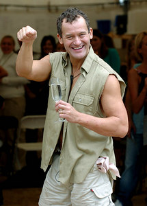 "GOLD COAST, AUSTRALIA - Paul Burrell, the runner-up in the 4th series of ""I'm A Celebrity, Get Me Out Of Here"" - PHOTO: CAMERON LAIRD (Ph +61 418238811)"