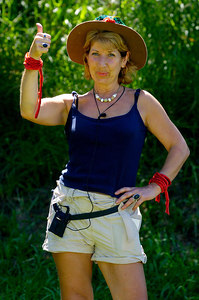 "GOLD COAST, AUSTRALIA / 10-FEB-2004 ""I'm a Celebrity, Get me out of Here"" runner-up Jennie Bond PHOTO: CAMERON LAIRD (Ph: +61 (0)418238811)"