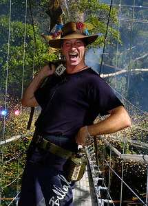 "GOLD COAST, AUSTRALIA / 09-FEB-2004 Lord Brocket after his eviction from ""I'm a Celebrity, Get me out of Here"" PHOTO: CAMERON LAIRD (Ph: +61 (0)418238811)"