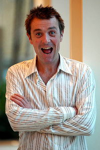 "Surfers Paradise, Queensland, AUSTRALIA / 14-MAY-2003 ""I'm a Celebrity, Get me out of here"" winner Phil Tufnell PHOTO: © CAMERON LAIRD (Ph: +61 418 238811)"