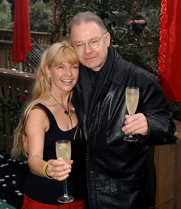 "Murwillumbah, Queensland, AUSTRALIA / 10-MAY-2003 ""I'm a Celebrity, Get me out of here"" fourth evictee Toyah Willcox and husband Robert Fripp PHOTO: GRANADA"