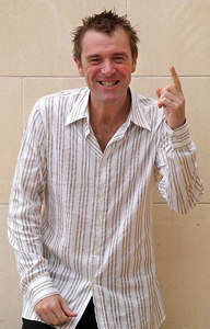 "Surfers Paradise, Queensland, AUSTRALIA / 15-MAY-2003 ""I'm a Celebrity, Get me out of here"" winner Phil Tufnell PHOTO: © CAMERON LAIRD (Ph: +61 418 238811)"