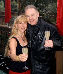 "Murwillumbah, New South Wales, AUSTRALIA / 10-MAY-2003 ""I'm a Celebrity, Get me out of here"" fourth evictee Toyah Willcox and husband Robert Fripp PHOTO: © CAMERON LAIRD (Ph: +61 418 238811)"