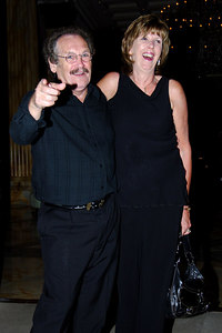 """I'm A Celebrity... Get Me Out Of Here"" stars dressed to kill as they head to a ""Wrap Party"" after the end of the 5th series.  Bobby Ball with wife Yvonne - PHOTO: CAMERON LAIRD (Ph: +61 418238811)"