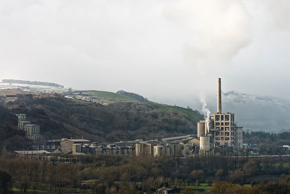 Breedon Hope Cement Works - Hope, Derbyshire