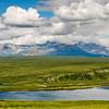 Alaska Range Lake Scene