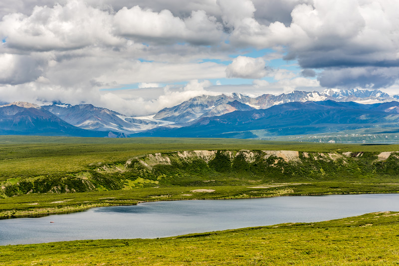 Tundra Lakes & Mountain Glaciers