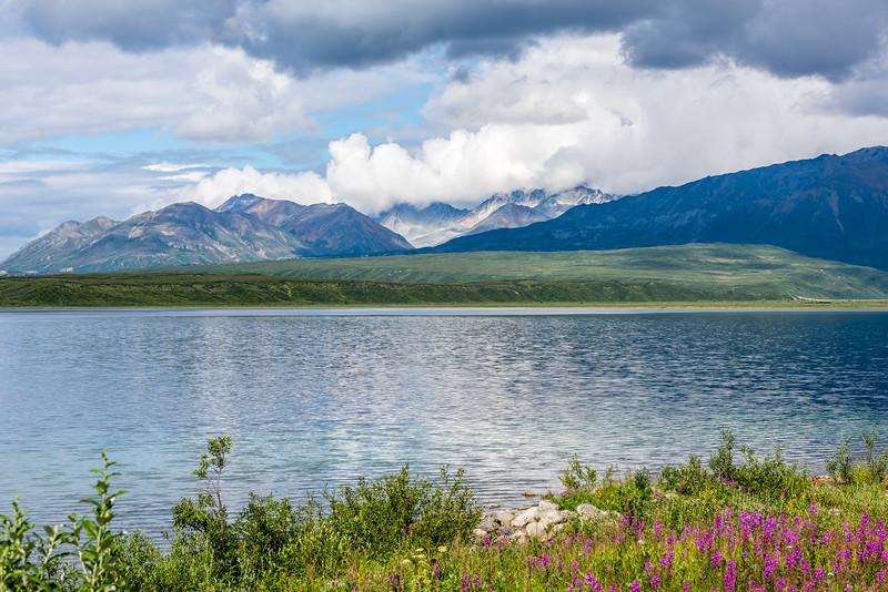Clouds Form Over the Alaska Range
