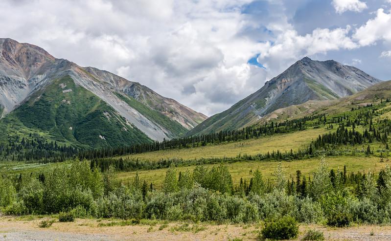 Alaska Range Slopes & Peaks