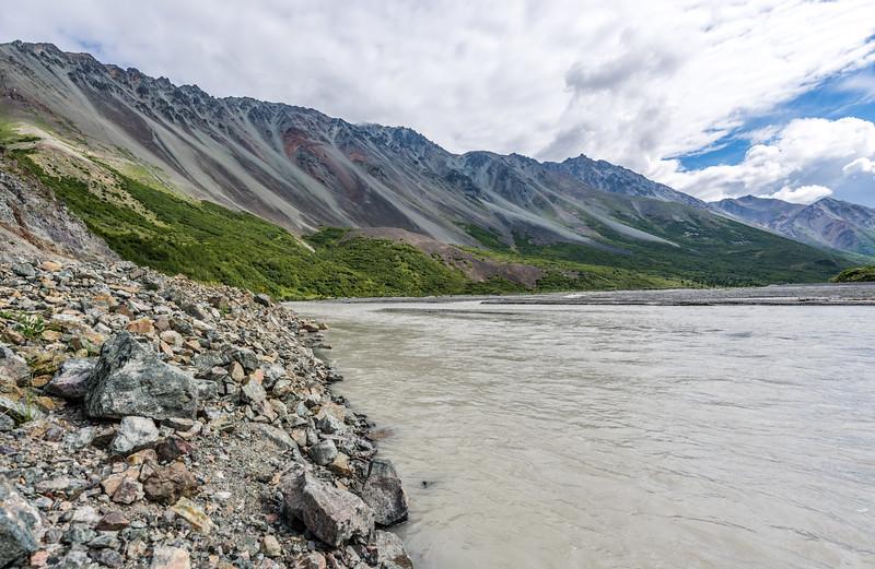 Delta River & Alaska Range