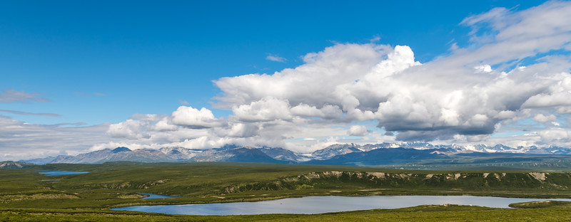 Alaska Range Lake Panoramic