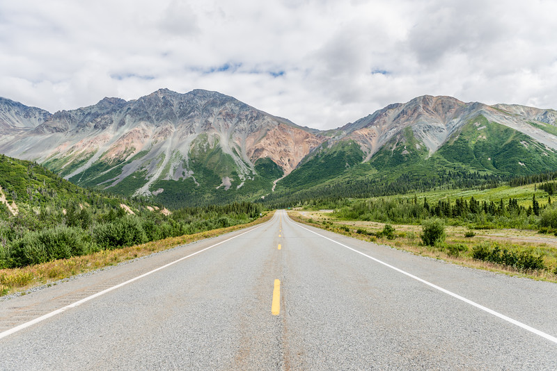 Road Through the Alaska Range