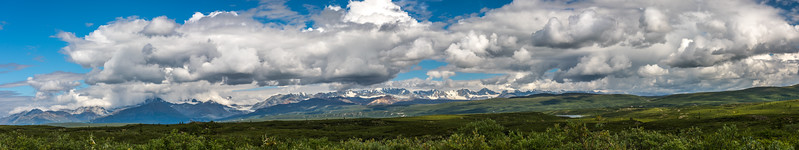 Alaska Range Panoramic