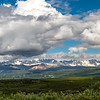 Alaska Range Panoramic
