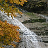 Buttermilk Falls in Ithaca Falls - October 21, 2009