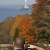 Bill taking a picture - October 21, 2009