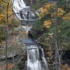 Triphammer Falls in Ithaca New York - October 21, 2009