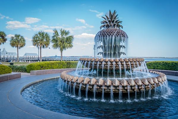 Pineapple Fountain - Charleston, SC