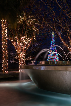 Christmas Time at Night - Marion Square