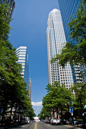 Tryon Street in Charlotte, NC