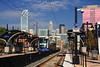 The Lynx Light Rail Train in Charlotte