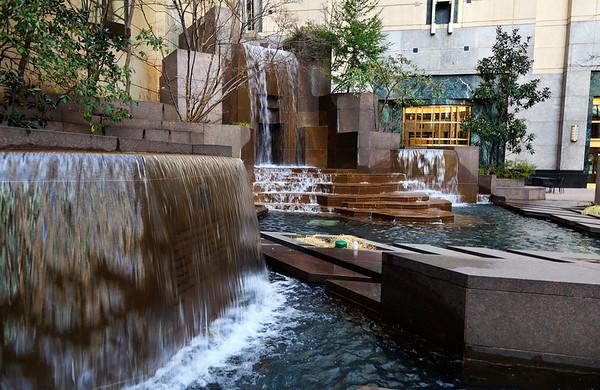 Thomas Polk Park Water Fountains